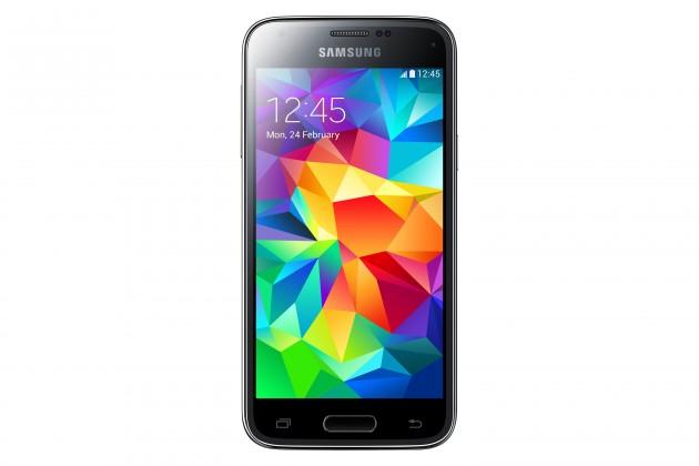Smartphone Samsung Galaxy S5 Mini (SM-G800), modrý