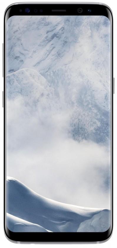 Smartphone Samsung Galaxy S8 G950F, stříbrná