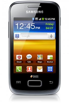 Smartphone Samsung Galaxy Y Duos (S6102), černý