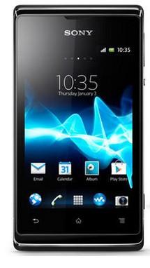 Smartphone Sony Xperia E Dual (C1605) Black