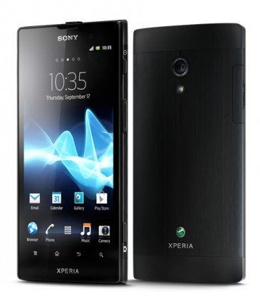 Smartphone Sony Xperia Ion Black