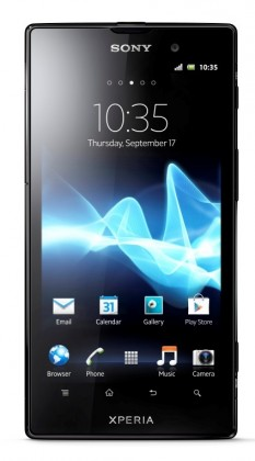 Smartphone Sony Xperia Ion Red