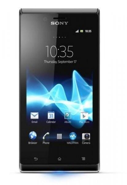Smartphone Sony Xperia J White