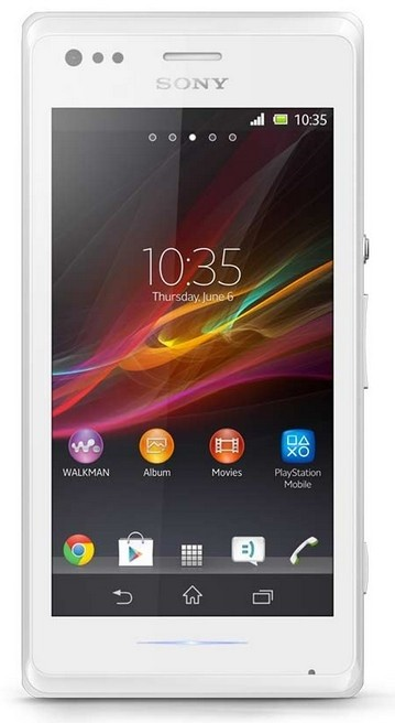 Smartphone Sony Xperia M Dual (C2005) White