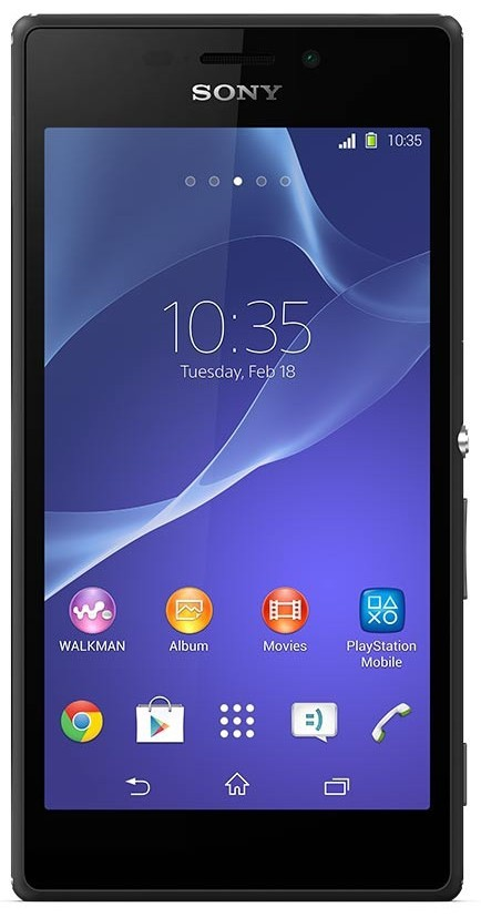 Smartphone Sony Xperia M2 D2303 Black