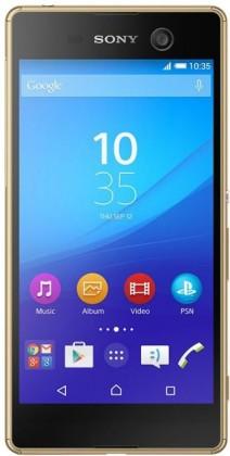 Smartphone Sony Xperia M5 E5603 zlatý POUŽITÉ, NEOPOTŘEBNÉ ZBOŽÍ
