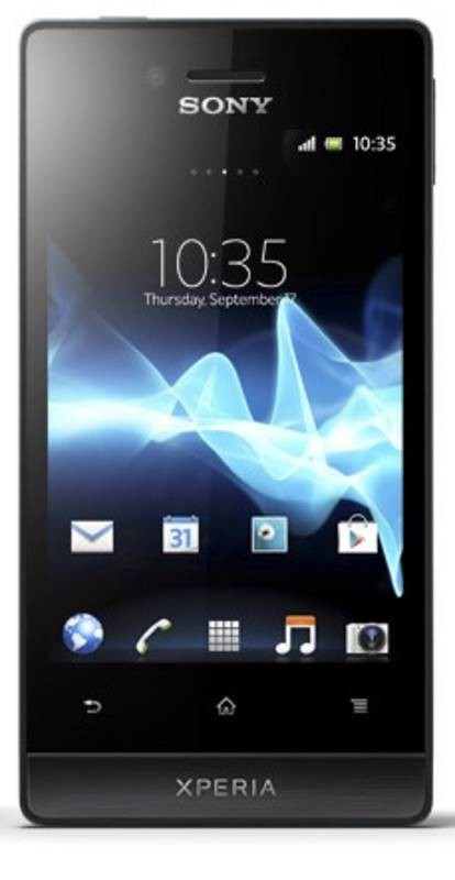 Smartphone Sony Xperia Miro (ST23i) Black