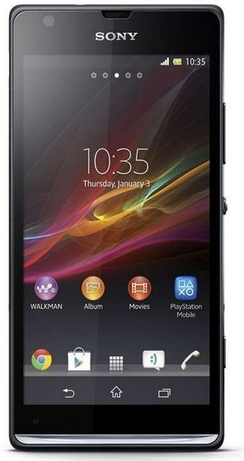Smartphone Sony Xperia SP C5303 Black