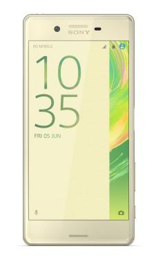 Smartphone Sony Xperia X, zlatá