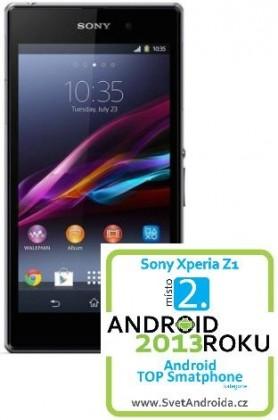 Smartphone Sony Xperia Z1 (C6603) Black ROZBALENO