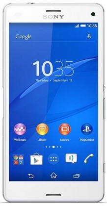Smartphone Sony Xperia Z3 Compact D5803 White