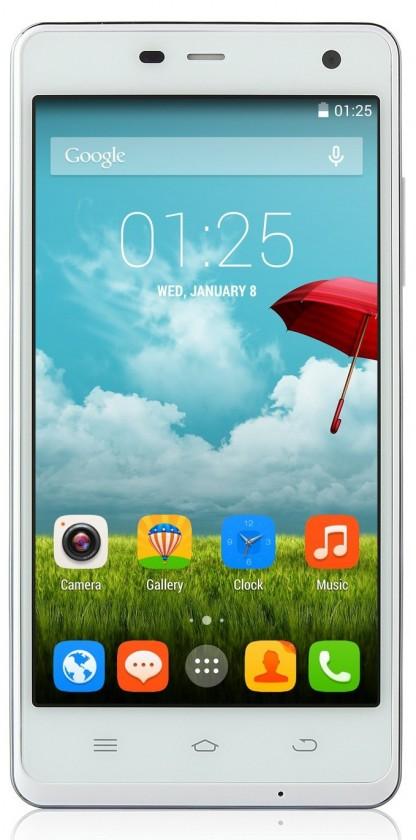 Smartphone THL 5000 Ultraphone, bílý ROZBALENO