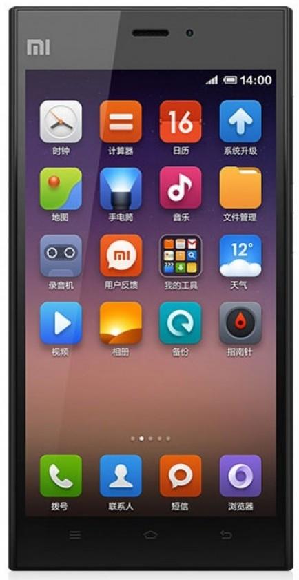 Smartphone Xiaomi Mi3 16GB Black