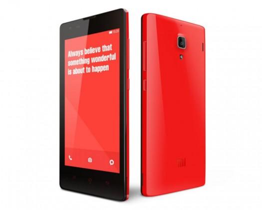Smartphone Xiaomi Redmi Note LTE red