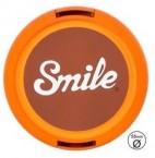 Smile krytka objektivu, 70,s Home 55mm, oranžová, 16118