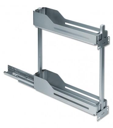 Snello - Výsuv pro spodní korpus, 200mm (stříbro-šedá)