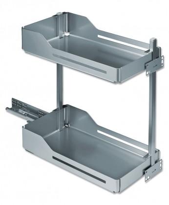 Snello - Výsuv pro spodní korpus, 300mm (stříbro-šedá)