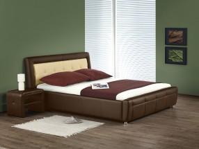 Soho - Postel 200x160, rám postele, rošt (hnědo-béžová)