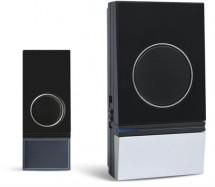 Solight 1L29, bezdrátový zvonek, 200m, černý