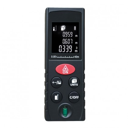 Solight DM40 - laserový měřič vzdálenosti, 0,05 - 40m