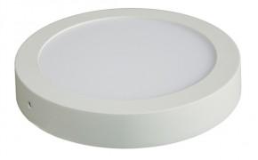 Solight LED panel přisazený, 12W, 900lm, 3000K, kulatý, bílý