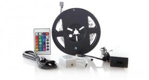 Solight LED pás, RGB, 3m,adaptér a dálk. ovladač, 7,2W/m,WM55 POU