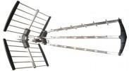 Solight venkovní DVB-T anténa, 17dB, LTE/4G filtr