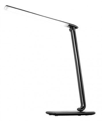 Solight WO37-B LED stolní lampička 9W, černý lesk
