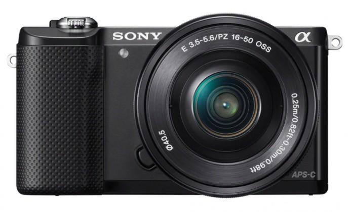 Sony Alpha 5000, černá + objektiv 16-50mm ILCE5000LB.CEC