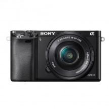 Sony Alpha 6000, 16-50mm, Black (ILCE6000LB.CEC) POUŽITÉ