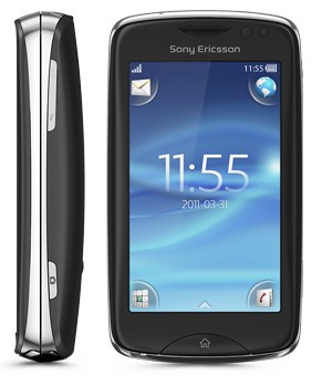 Sony Ericsson TXT Pro Black CK15i