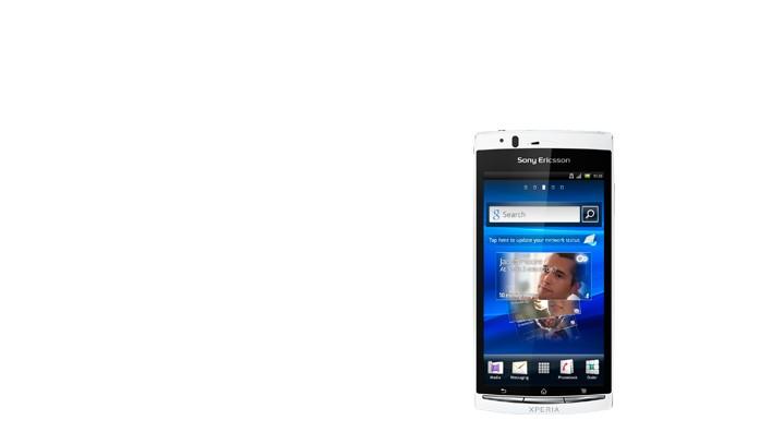 Sony Ericsson Xperia ARC S Pure White