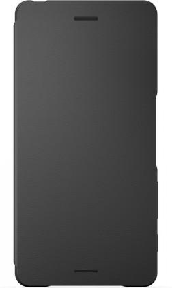 Sony flipové pouzdro pro Sony Xperia X, černá