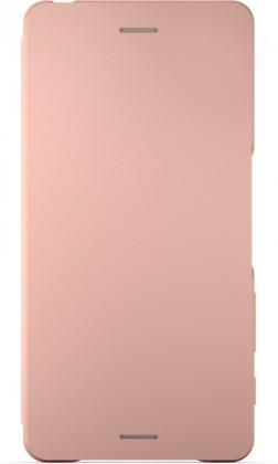 Sony flipové pouzdro pro Sony Xperia X, růžová