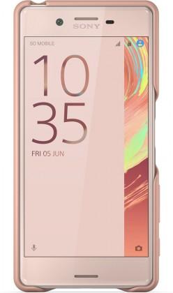Sony gelskin pro Xperia X, růžová