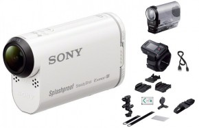 SONY HDR-AS200VB+bike kit