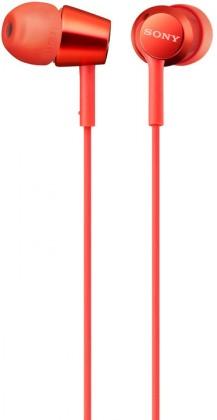 SONY MDR-EX155AP, červená MDREX155APR.AE