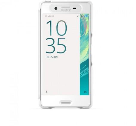 Sony ochranné pouzdro pro Sony Xperia X, bílá