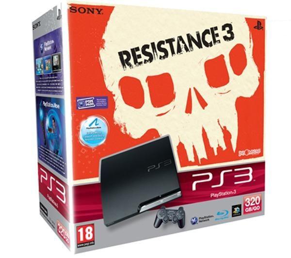 Sony Playstation 3 320 GB + hra Resistance 3