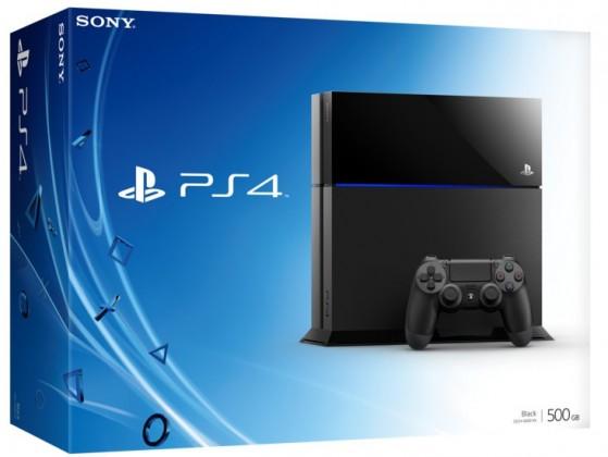 SONY PlayStation 4 - 500GB, černý
