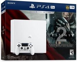 Sony PlayStation 4 Pro 1TB bílá + Destiny 2 + PS Plus 14 dní + DualShock 4 jako dárek