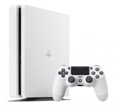 Sony PlayStation 4 Slim 500GB White + DualShock 4 jako dárek