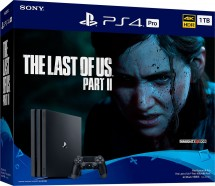 SONY PS 4 Pro 1TB GAMMA/EAS - černý + TLOU II ROZBALENO