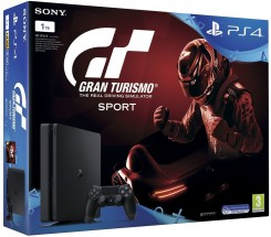 SONY PS 4 Slim 1TB+Gran Turismo Sport+That#s You+PS Plus 14dni RO
