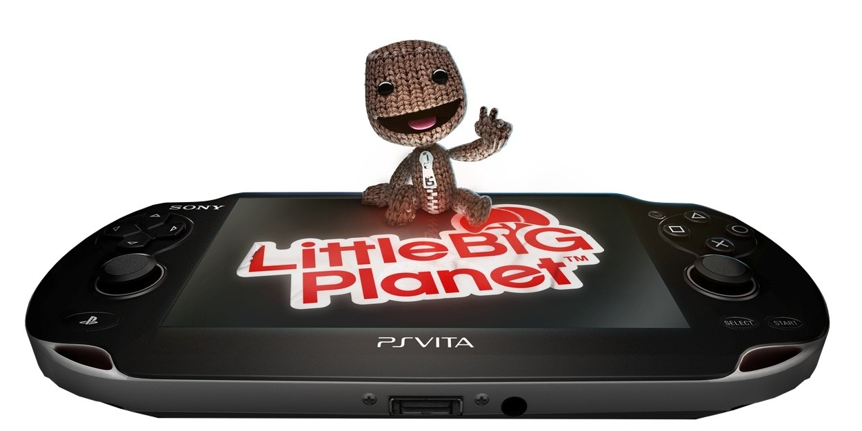 Sony PS Vita + LittleBigPlanet + 4GB