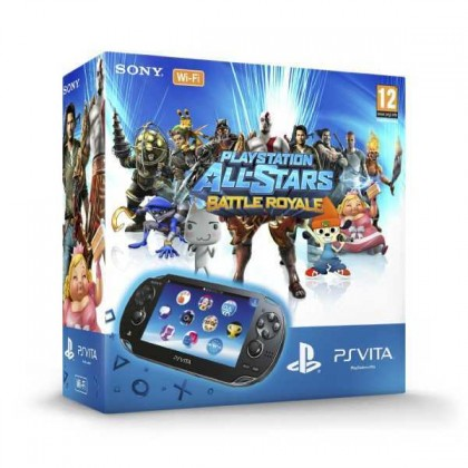 Sony PS Vita + PS AllStars Battlle Royale + 4GB