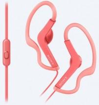 SONY sluchátka ACTIVE, handsfree, růžové, MDRAS210APP.CE7