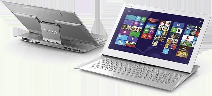 Sony VAIO Duo 13 bílá (SVD1321LCEZAN.YS)