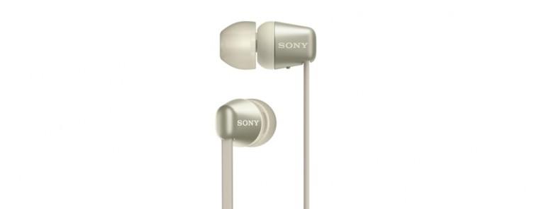 Sony WI-C310 zlatá