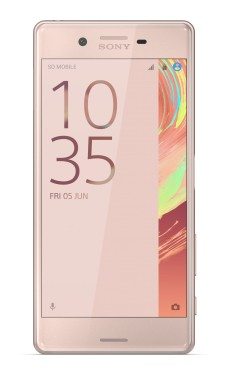 Sony Xperia X, růžová/zlatá ROZBALENO